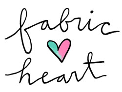 logo fabric heart 250